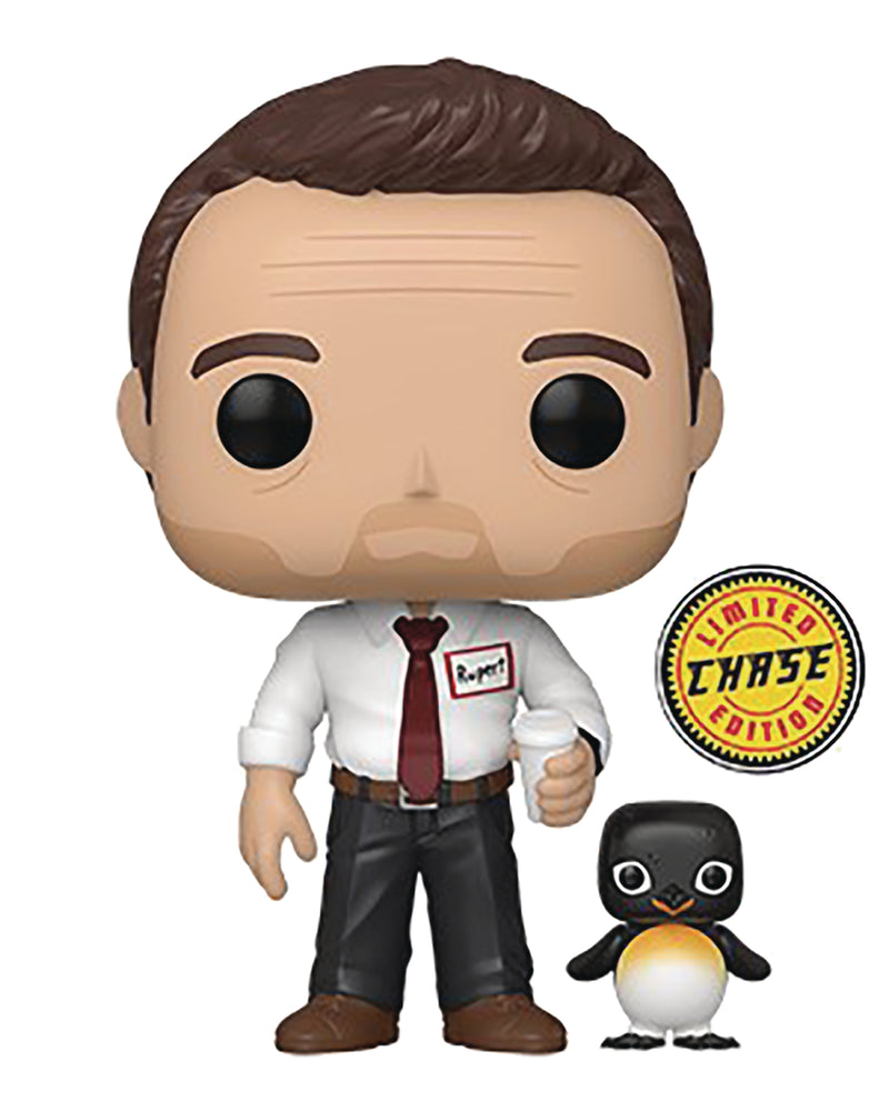 Funko Pop! Movies: Fight Club - Tyler Durden (Chase Variant with Buddy)