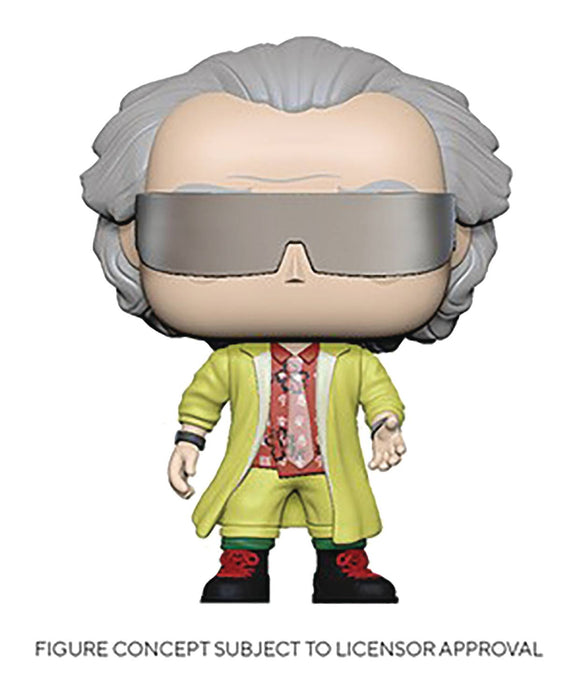 Funko Pop! Movies: Back to the Future (Set of 7)