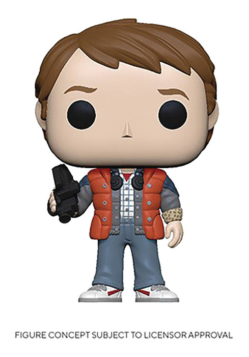 Funko Pop! Movies: Back to the Future - Marty McFly in Puffy Vest