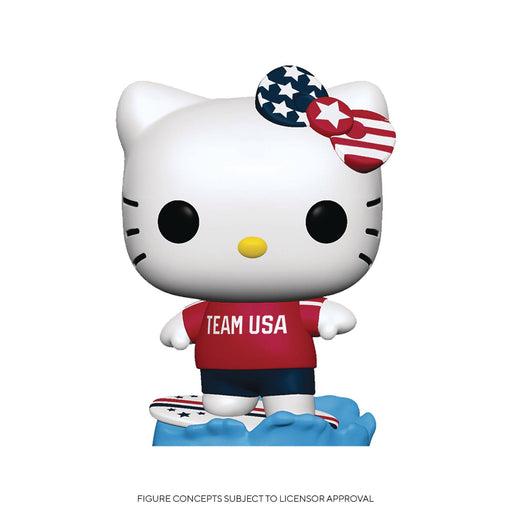 Funko Pop! Sanrio: HK Sports - Surfing Hello Kitty