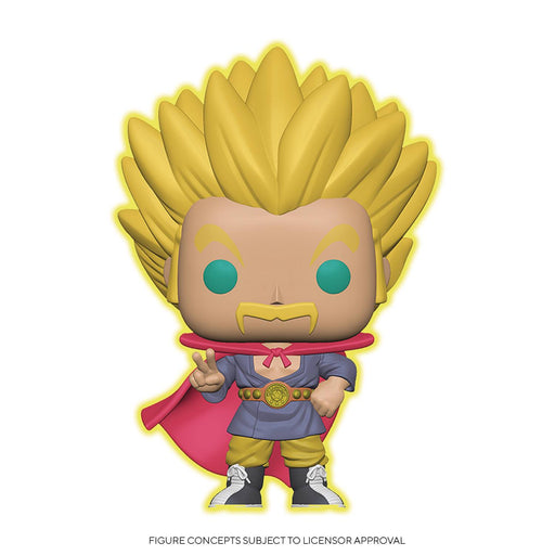 Funko Pop! Animation: Dragon Ball Super - Super Saiyan Hercule (Glow-in-the-Dark Ver.)