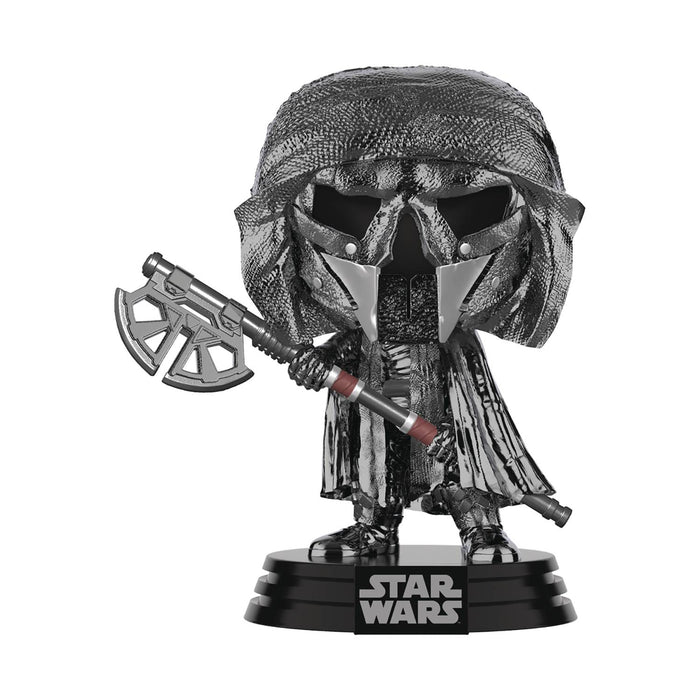 Funko Pop Star Wars The Rise Of Skywalker Knight Of Ren With Axe