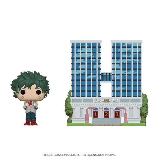 Funko Pop! Town: My Hero Academia - U.A. High School with Deku