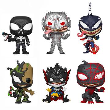 Funko Pop! Marvel: Venomized Series 3 (Set of 6)