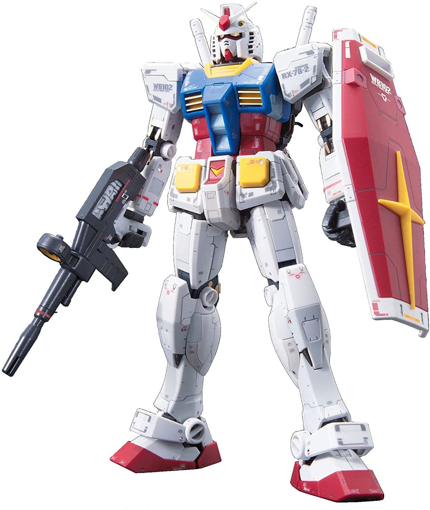 Bandai Hobby RX-78-2 Gundam (E.F.S.F. Prototype Close-Combat Mobile Suit) 1/144 RG Model Kit