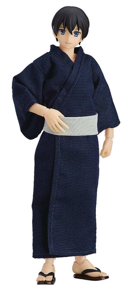 Max Factory Male Body (Ryo) with Yukata Outfit Figma Styles