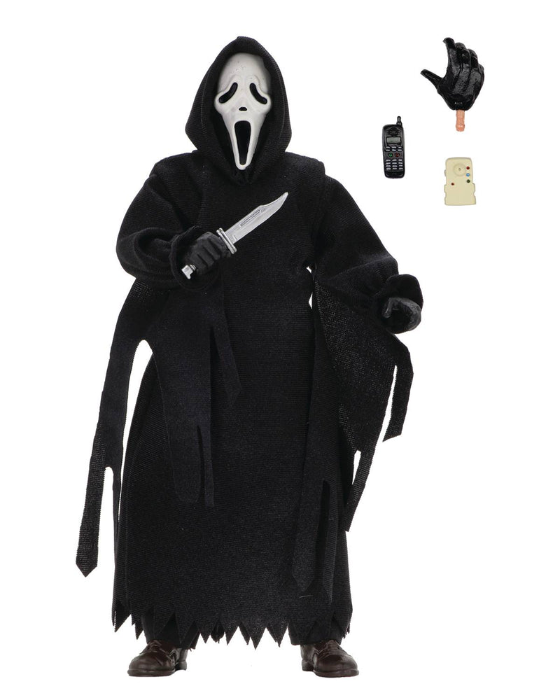 NECA Scream - Ghostface 8-inch Retro Cloth Action Figure