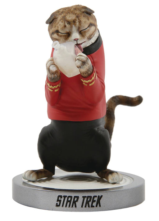 "Chronicle Star Trek Cats - Montgomery ""Scotty"" Scott Cat Statue"
