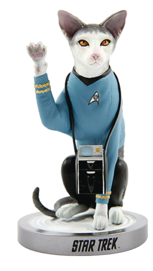 Chronicle Star Trek Cats - Spock Cat Statue
