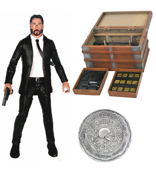 Diamond Select Toys John Wick (Deluxe Ver.) Action Figure