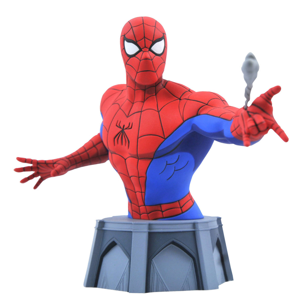 Diamond Select Toys Marvel Comics - Spider-Man Animated Series 1/6 Scale Bust