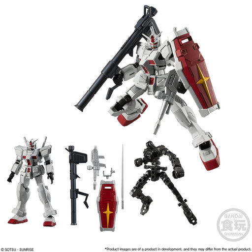 Bandai Shokugan Mobile Suit Gundam: G Frame Series 12 -  Gundam Roll Out Color