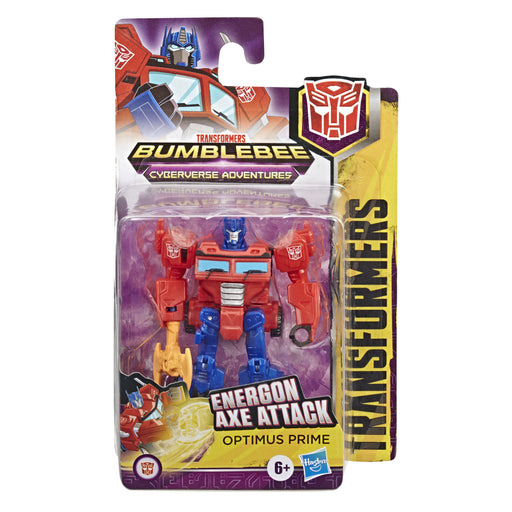 Hasbro Transformers Cyberverse Scout Action Figure - Optimus Prime