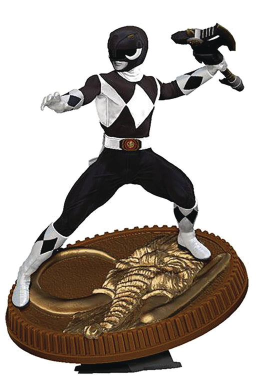 PCS Collectibles MMPR - Black Ranger 1/8 Scale PVC Statue