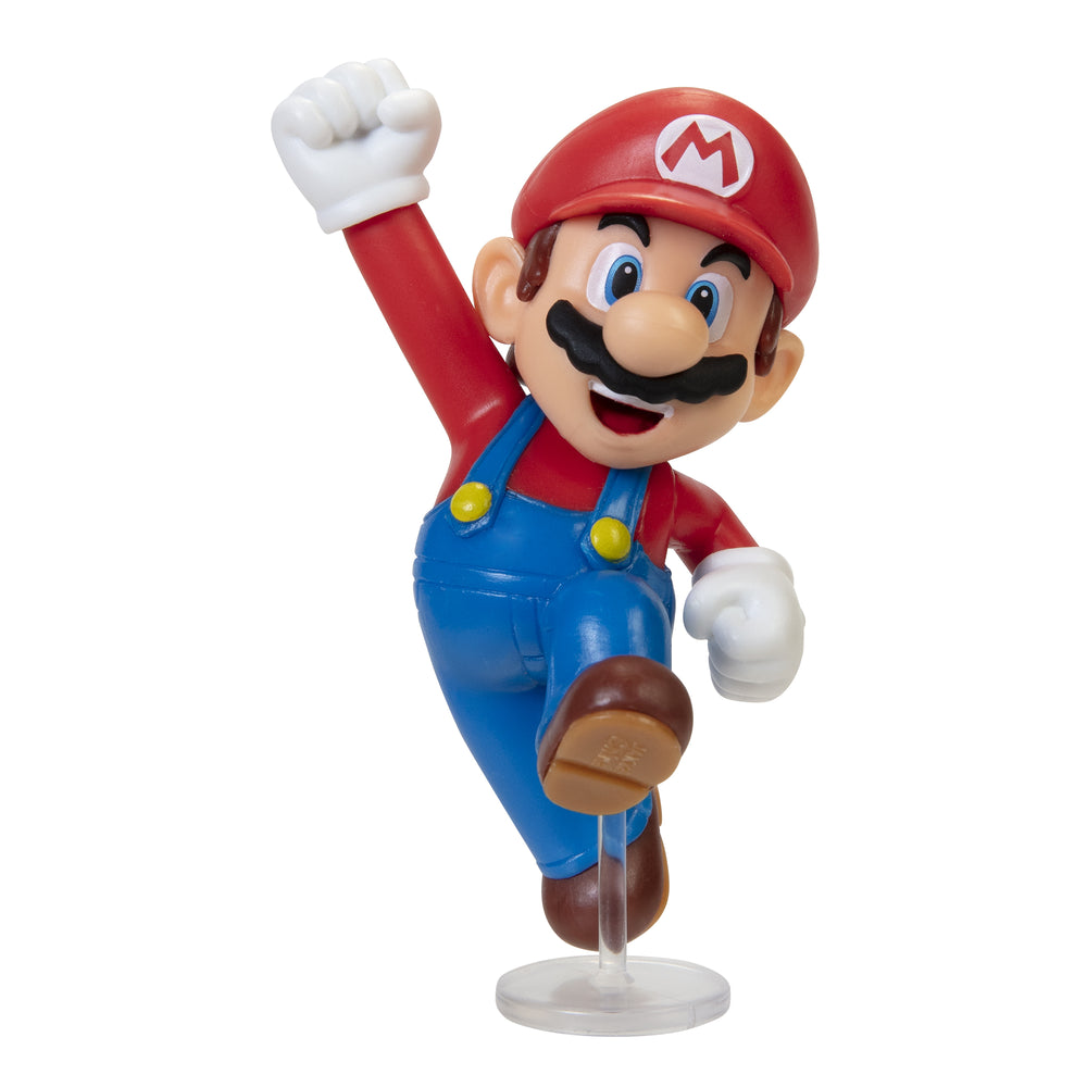 Jakks World of Nintendo: Super Mario 2-1/2 Minifigures (Wave 27) - Jumping Mario