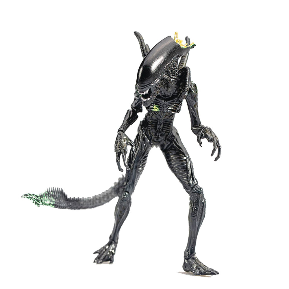 Hiya Toys AVP (2004) - Alien Warrior (Blowout Ver.) 1/18 Scale Action Figure