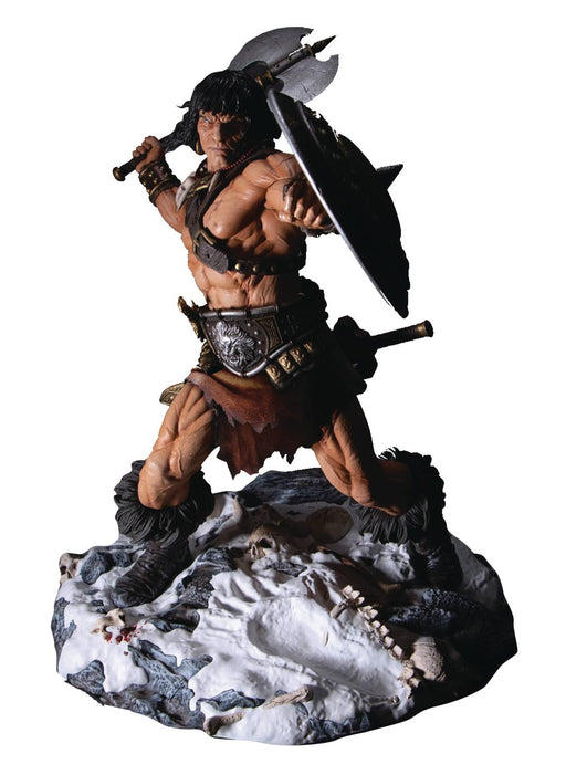 Mezco Static Six Conan The Cimmerian  1/6 Scale Statue