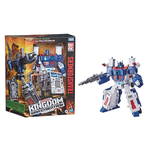 Transformers Generations War for Cybertron: Kingdom Leader Class Ultra Magnus Action Figure