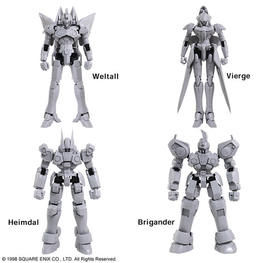 Square Enix Xenogears Structure Arts Model Kit Set
