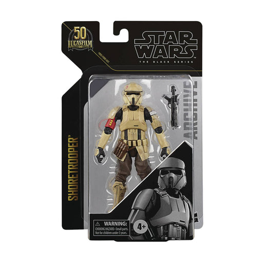 "Star Wars Black Series Archive 6"" Shore Trooper (Rogue One)"