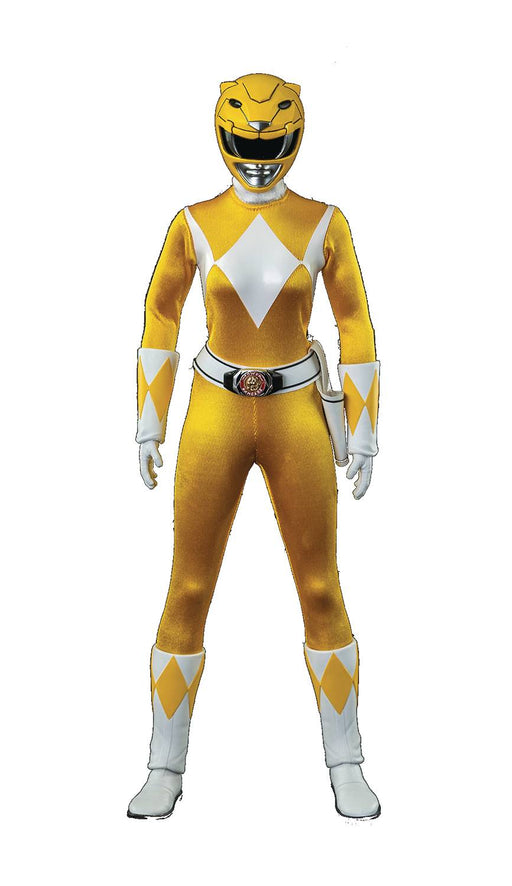ThreeZero MMPR - Yellow Ranger 1/6 Scale Action Figure