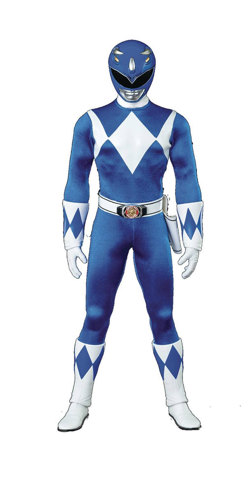 ThreeZero MMPR - Blue Ranger 1/6 Scale Action Figure