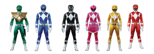 ThreeZero MMPR - Power Ranger Set 1/6 Scale Action Figure
