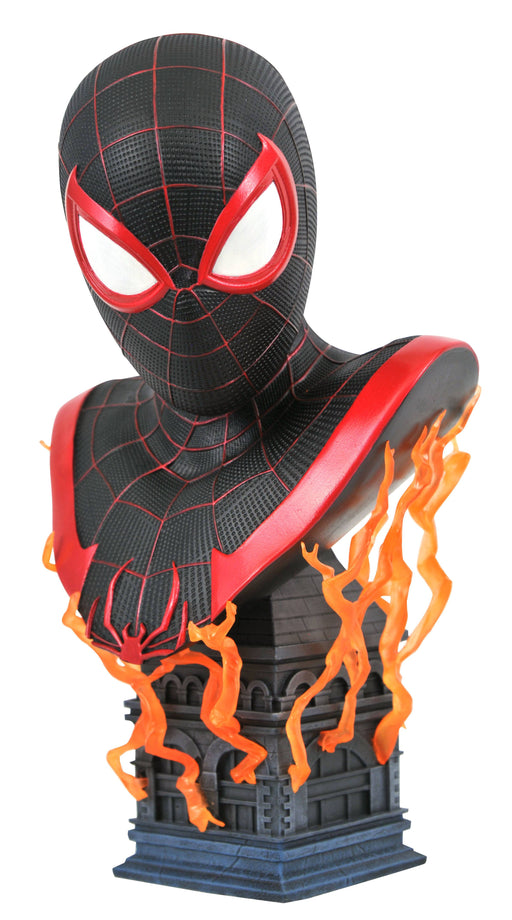 Diamond Select Toys Marvel Legends in 3D - Miles Morales Spider-Man Bust