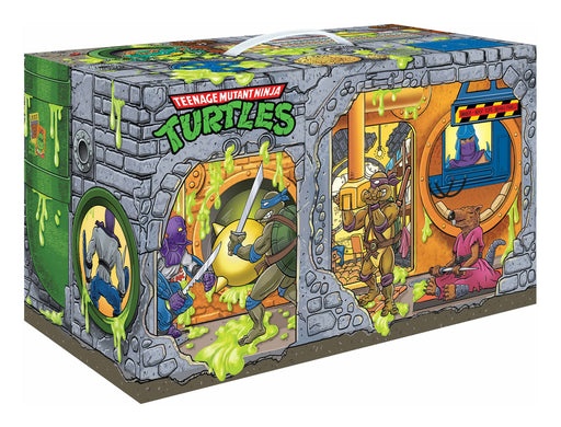 Playmates Teenage Mutant Ninja Turtles Retro Rotocast Sewer Lair 6PC Figure Set