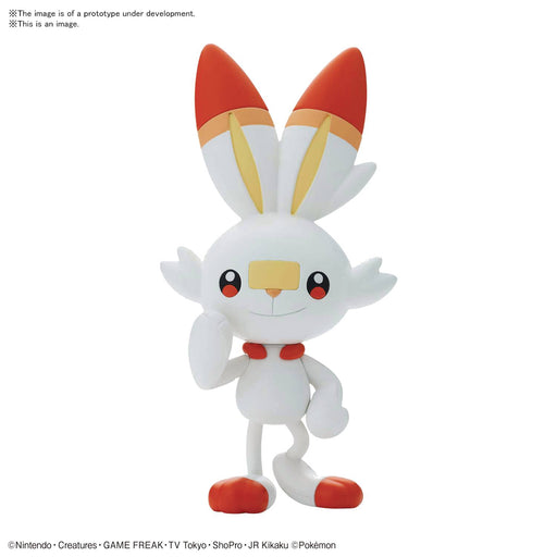 Bandai Spirits Pokemon - 05 Scorebunny Quick Model Kit