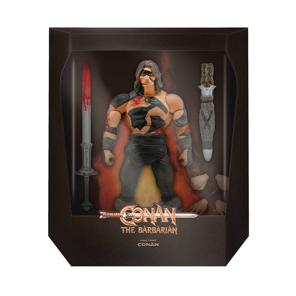Super 7 Conan The Barbarian 7-inch Ultimates Action Figure - Conan War Paint