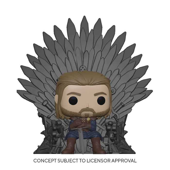 Funko Pop! Television : Game of Thrones -  Ned On The Iron Throne