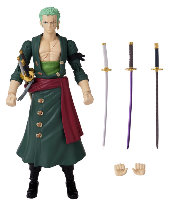 Bandai Anime Heroes: One Piece - Zoro Action Figure