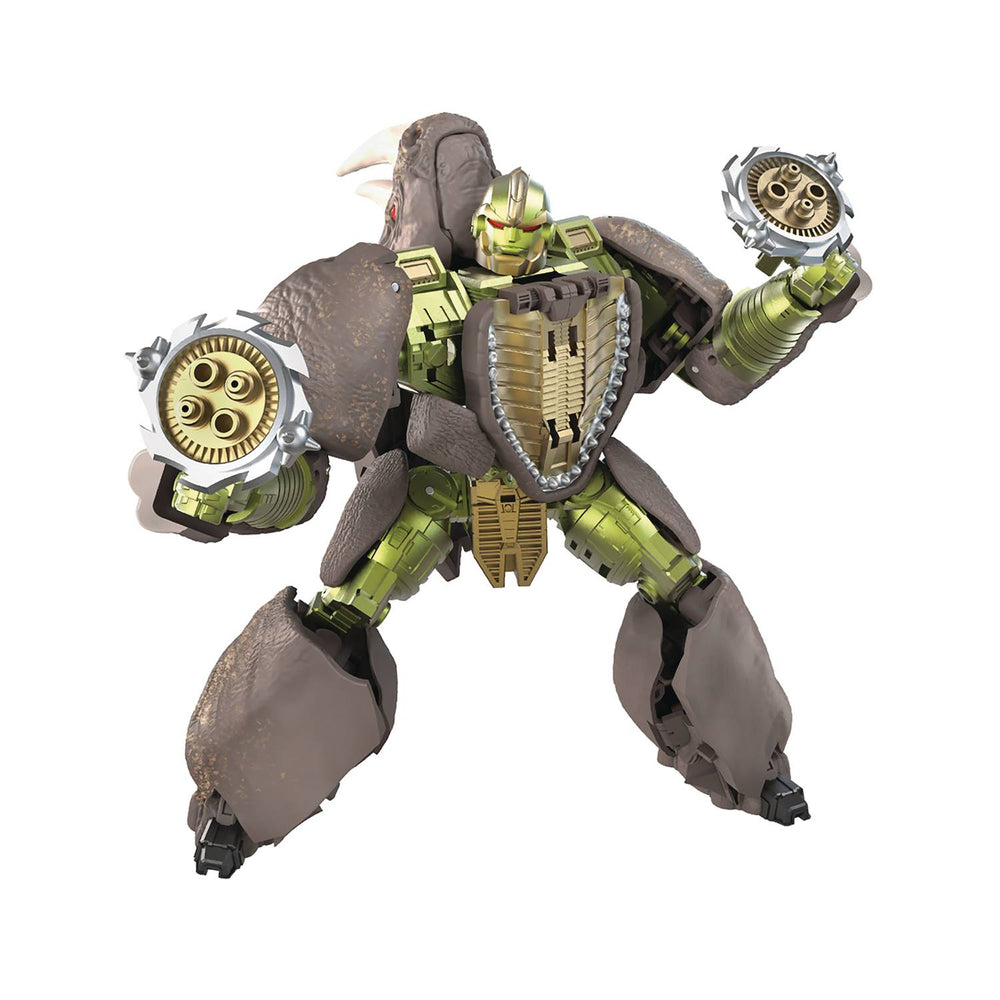 Transformers Generations War for Cybertron: Kingdom - Voyager Rhinox