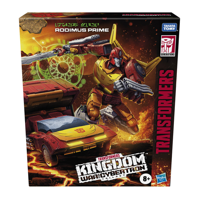 Transformers Generations: WFCK - Leader Class Rodimus Prime