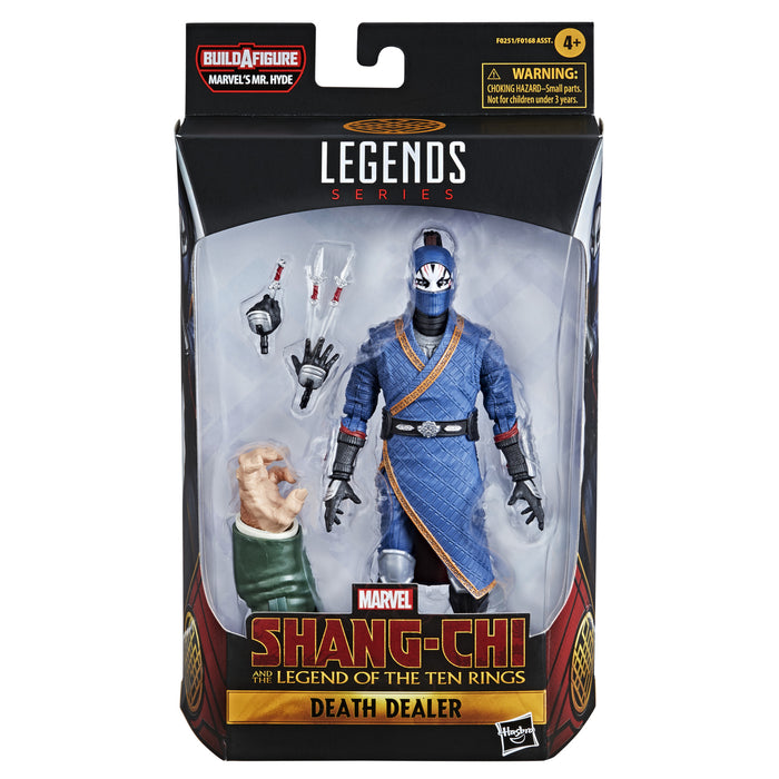 Hasbro Marvel Legends Shang Chi Action Figure - Death Dealer BAF Hyde
