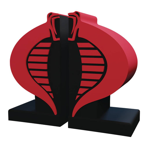 Icon Heroes G.I. Joe - Cobra Logo Bookend