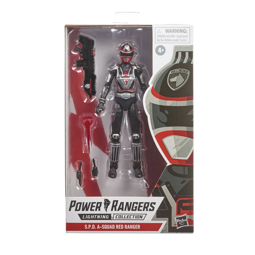 Hasbro Power Rangers: Lightning Collection - S.P.D. A Squad Red Ranger