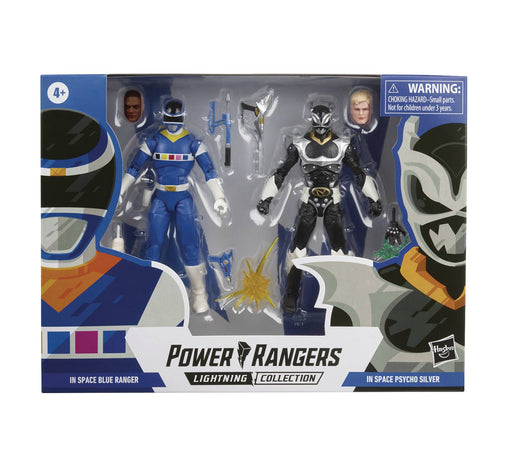 Hasbro Power Rangers: Lightning Collection - Silver Psycho & Blue Ranger