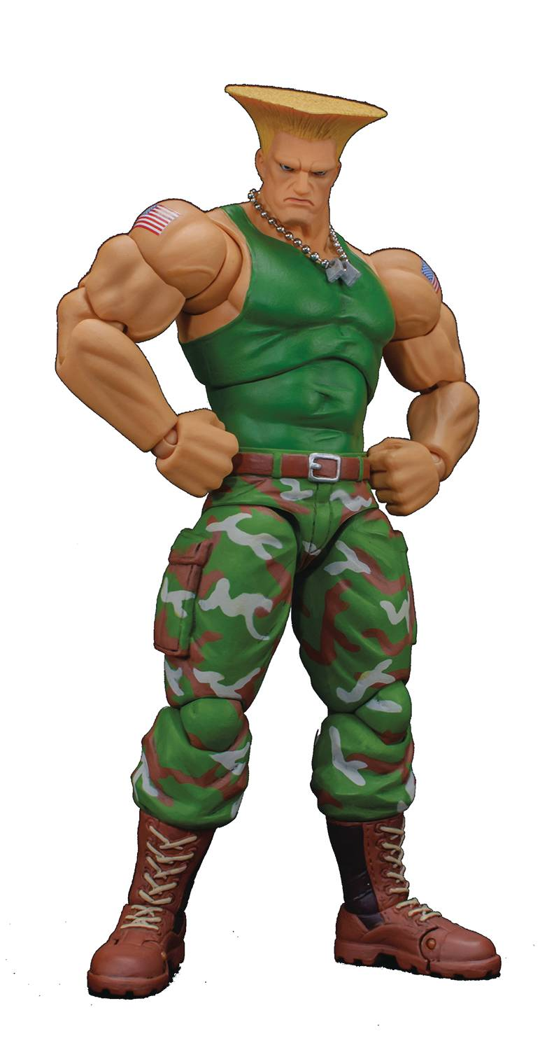 Storm Collectibles Street Fighter Guile 6 Inch Action Figure