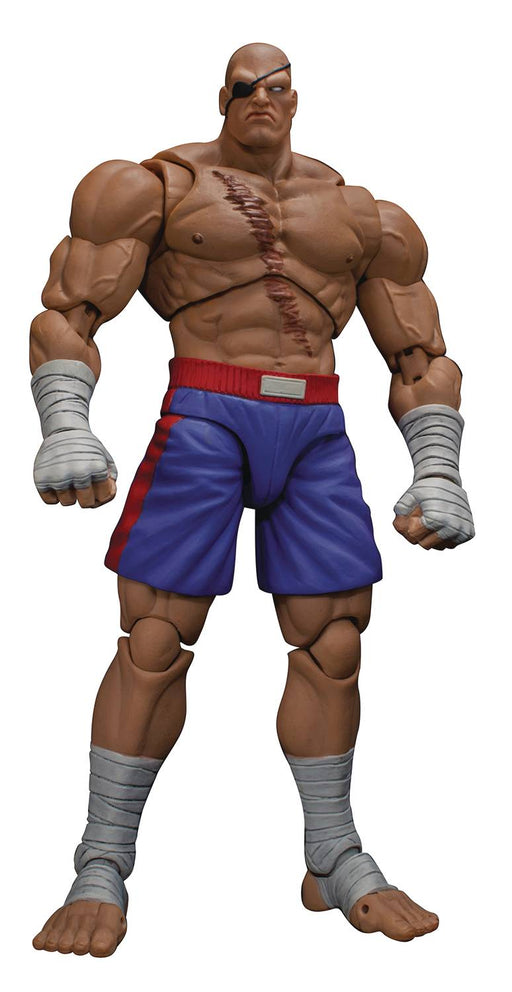Storm Collectibles Street Fighter - Sagat 6-inch Action Figure
