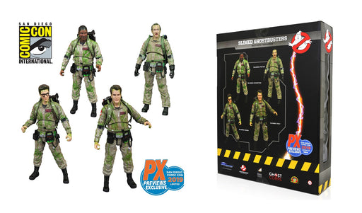 Diamond Select Toys Ghostbusters (Slimed Version) Select Action Figure Box Set (2019 SDCC Exclusive)