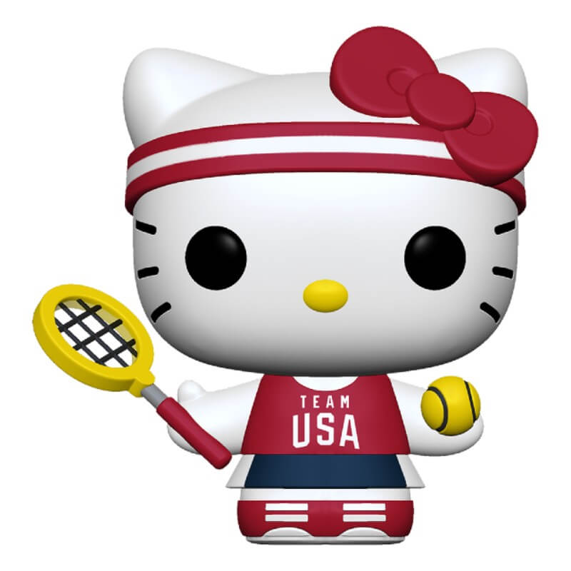 Funko Pop! Sanrio: HK Sports - Tennis Hello Kitty