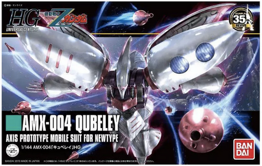 Bandai Hobby Z Gundam - AMX-004 Qubeley 1/144 HG Model Kit