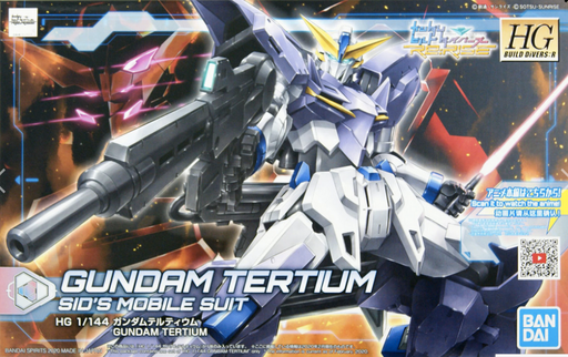 Bandai Spirits Gundam Build Divers RE:Rise - #16 Gundam Tertium (Sid's Mobile Suit) 1/144 HG Model Kit