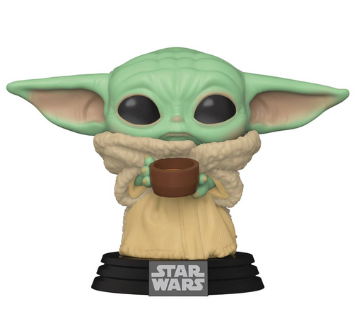 Funko Pop! Star Wars: The Mandalorian - The Child (with Cup)