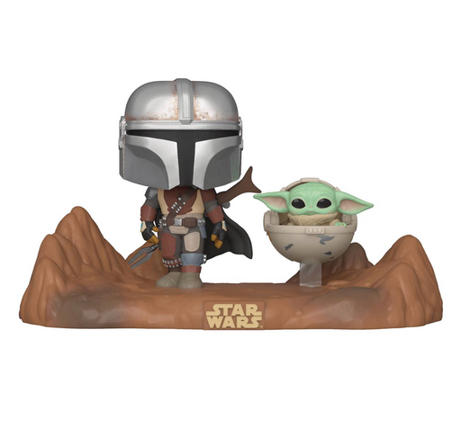 Funko Pop! Moments: Star Wars - The Mandalorian & Child
