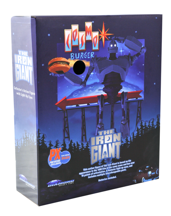 Diamond Select Toys Iron Giant Deluxe Action Figure Box Set (2020 SDCC Exclusive)