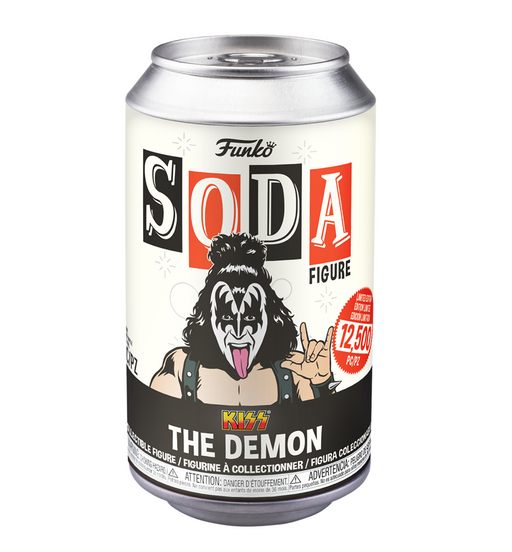 Funko Vinyl Soda: KISS - The Demon Gene Simmons