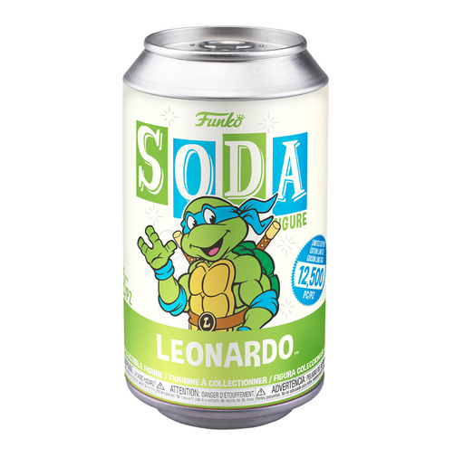 Funko Vinyl Soda: Teenage Mutant Ninja Turtles - Leonardo